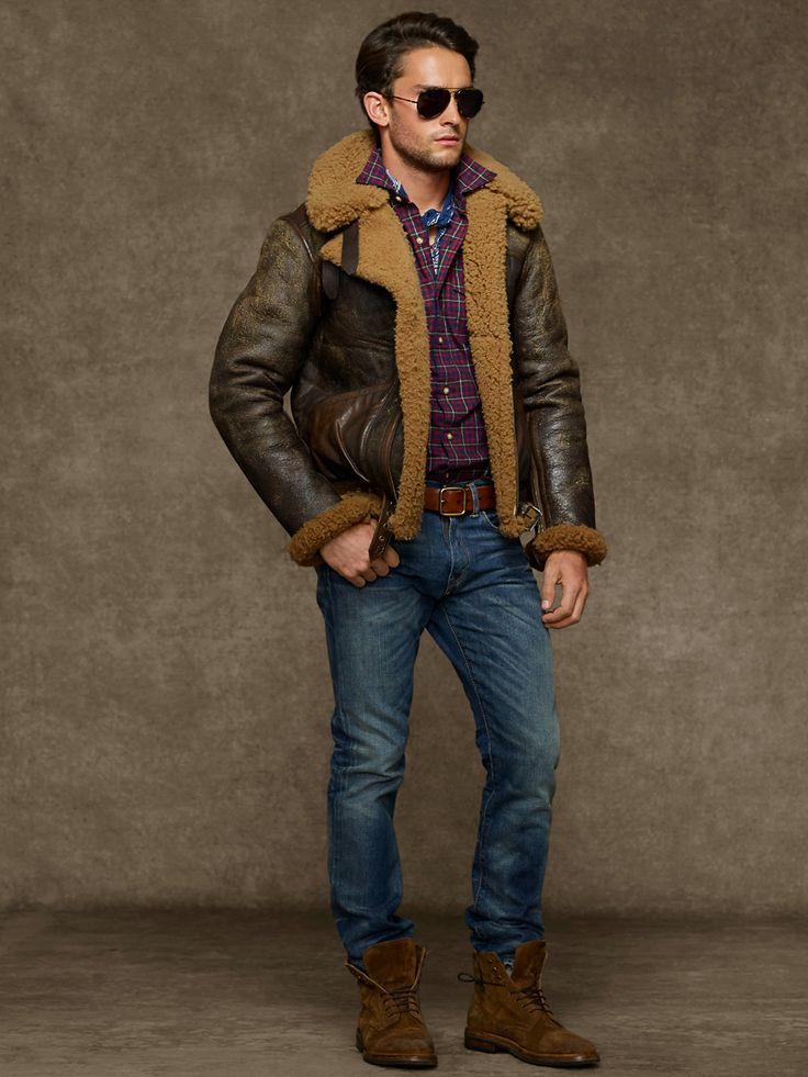 Shearling2 25+ Winter Fashion Trends for Handsome Men in 2017