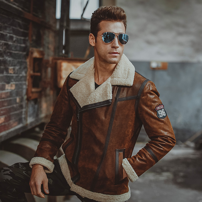Shearling5 25+ Winter Fashion Trends for Handsome Men in 2018