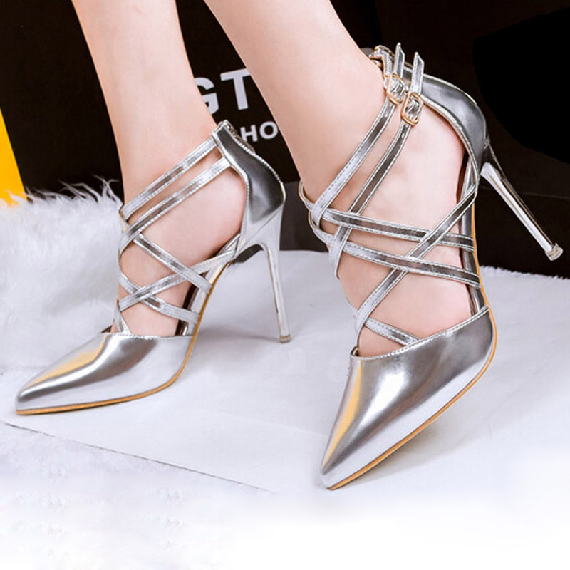 Shiny-shoes4 Summer/Spring Shoe Trends that Every Woman Dreams of in 2018