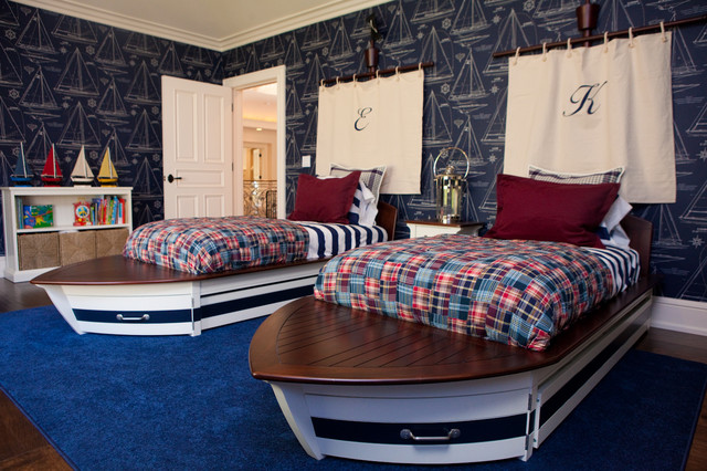 Ship-Themed-Room 25+ Most Fabulous Kid's Bedrooms Design Ideas in 2020