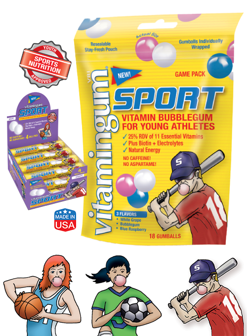 Sports-Gum Stocking Stuffers for the Sports Star on your Christmas List