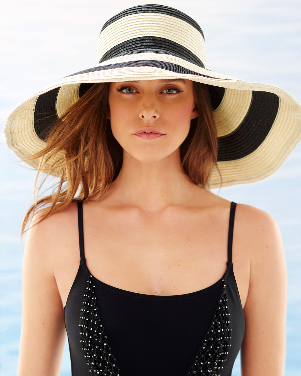 Striped-Straw-Hats5 10 Women's Hat Trends For Summer 2017