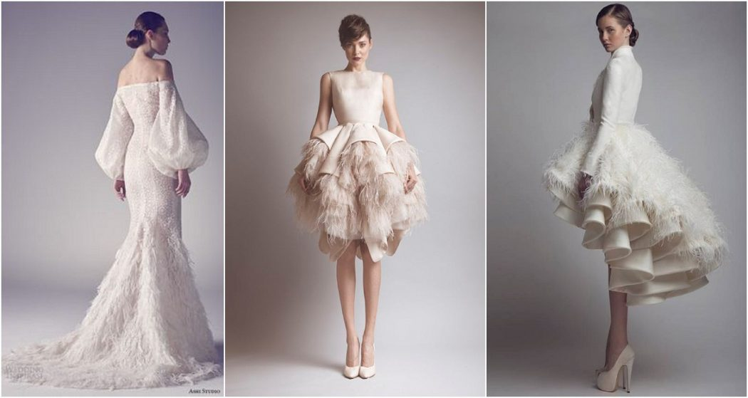 2018 Wedding Dresses Trends For A Gorgeous Looking Brid Pouted Magazine