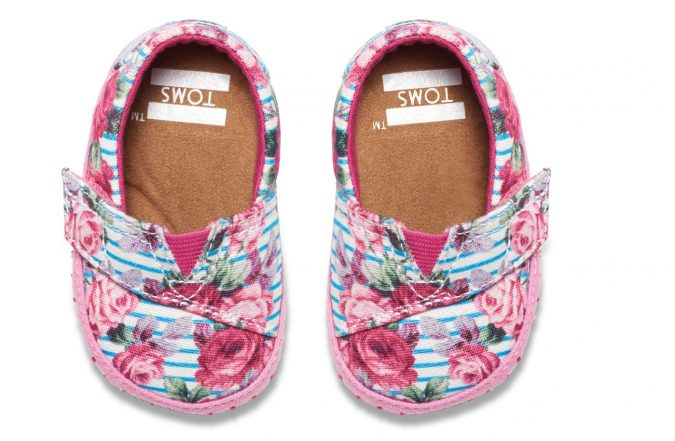 TOMS-baby-girl-shoes6-TOMS-exclusive-Floral-Stripes-675x441 20+ Adorable Baby Girls Shoes Fashion for 2018