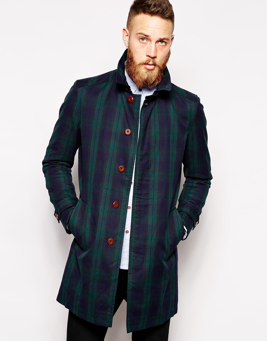 Tartan2 25+ Winter Fashion Trends for Handsome Men in 2018
