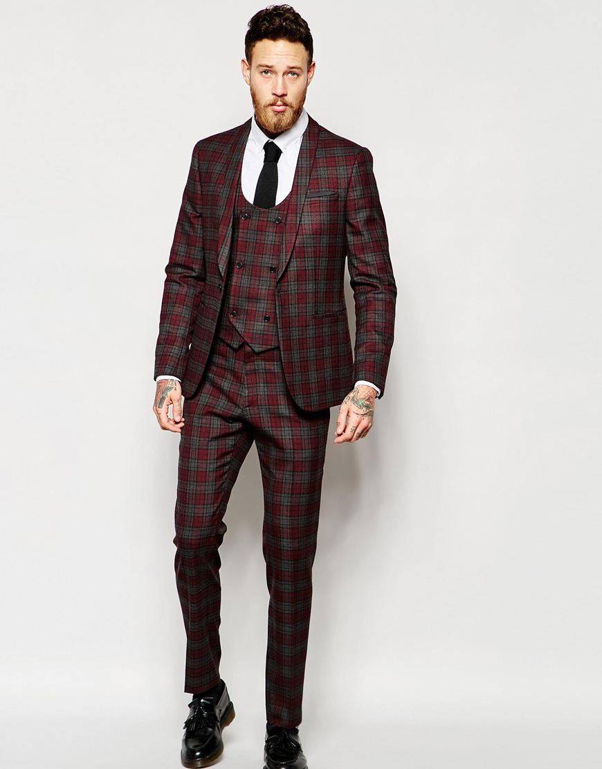 Tartan3 25+ Winter Fashion Trends for Handsome Men in 2018