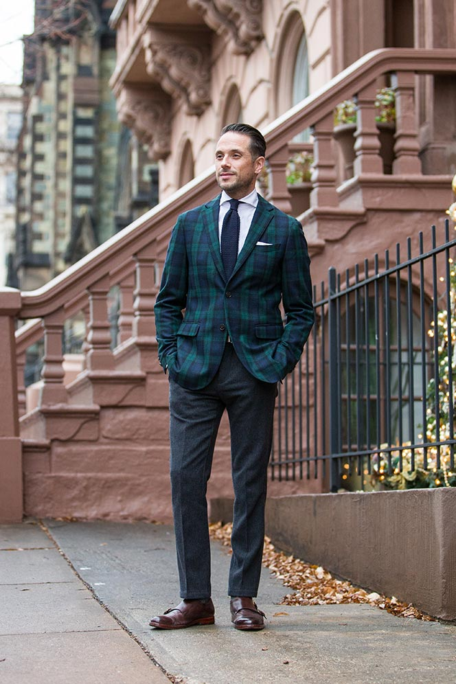 Tartan4 25+ Winter Fashion Trends for Handsome Men in 2018