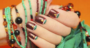 10 Thanksgiving Nail Art Design To Try