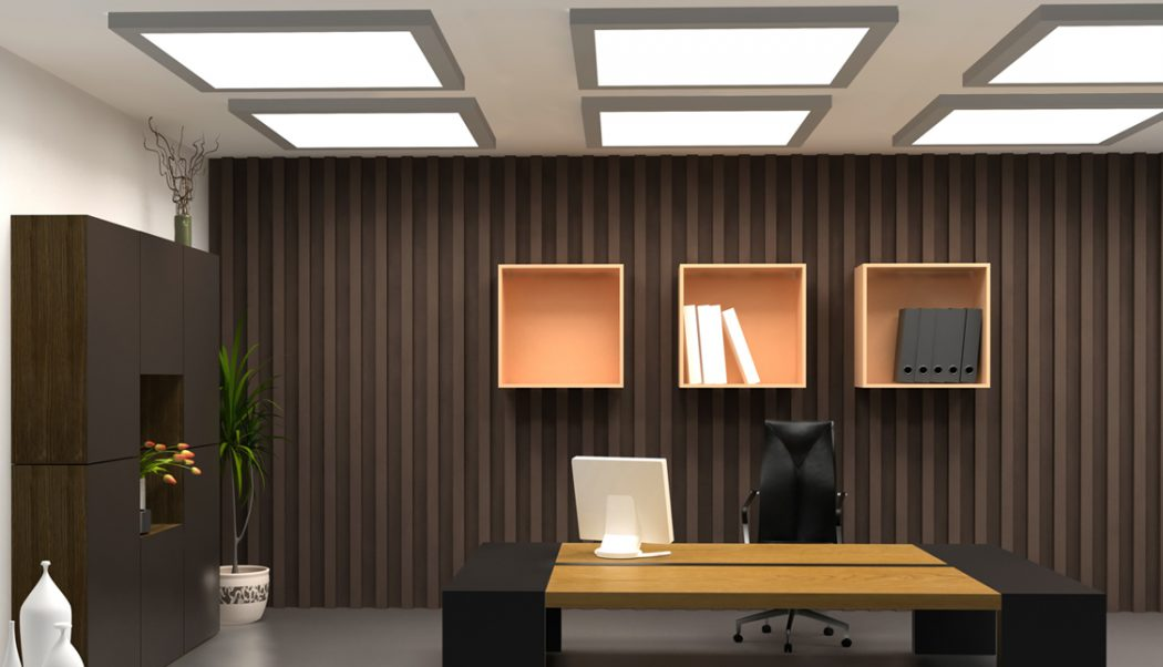 The-Impact-Of-Light4 8 Office Decoration Designs For 2018