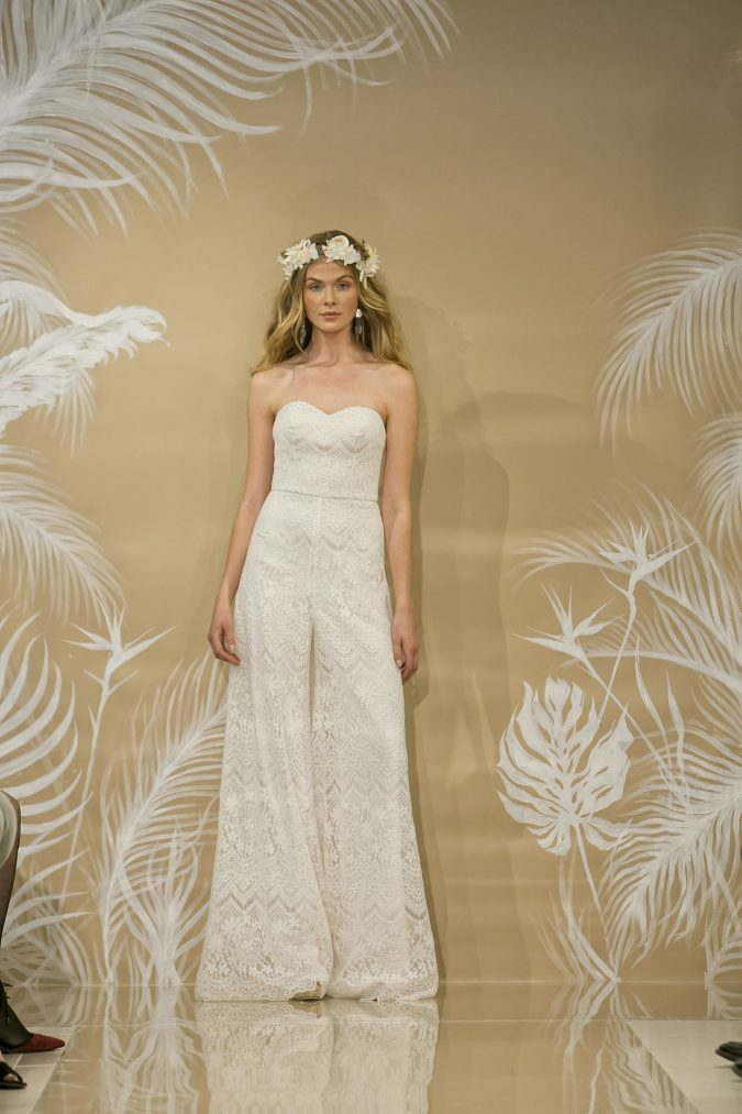 Theia-wedding-jumpsuit-675x1013 +25 Wedding dresses Design Ideas for a Gorgeous-looking Bride in 2020