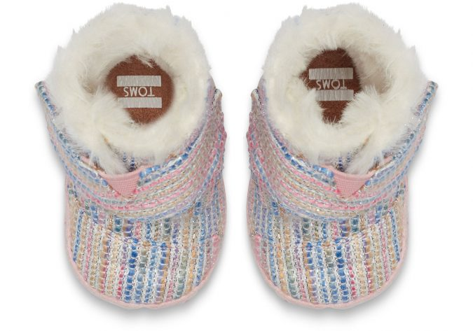 Toms-baby-girl-shoes2-Pink-Metallic-675x473 20+ Adorable Baby Girls Shoes Fashion for 2020