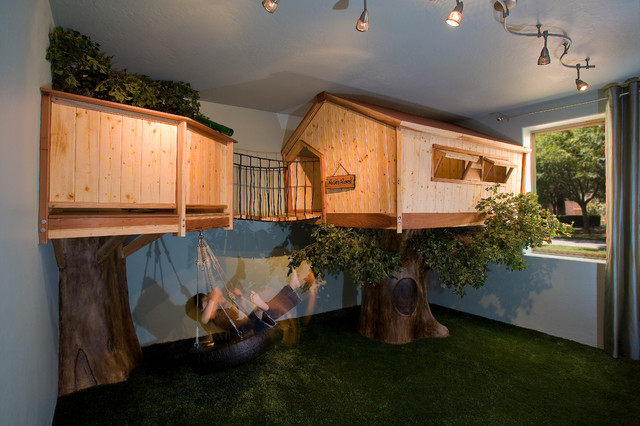 Tree-House-Room 25+ Most Fabulous Kid's Bedrooms Design Ideas in 2020