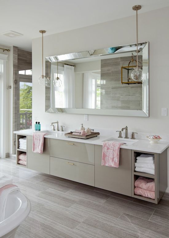 Vanity-bathroom-mirrors 27+ Trendy Bathroom Mirror Designs of 2017