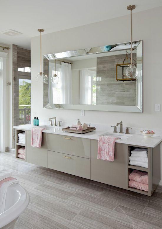 Vanity-bathroom-mirrors 27+ Trendy Bathroom Mirror Designs of 2017