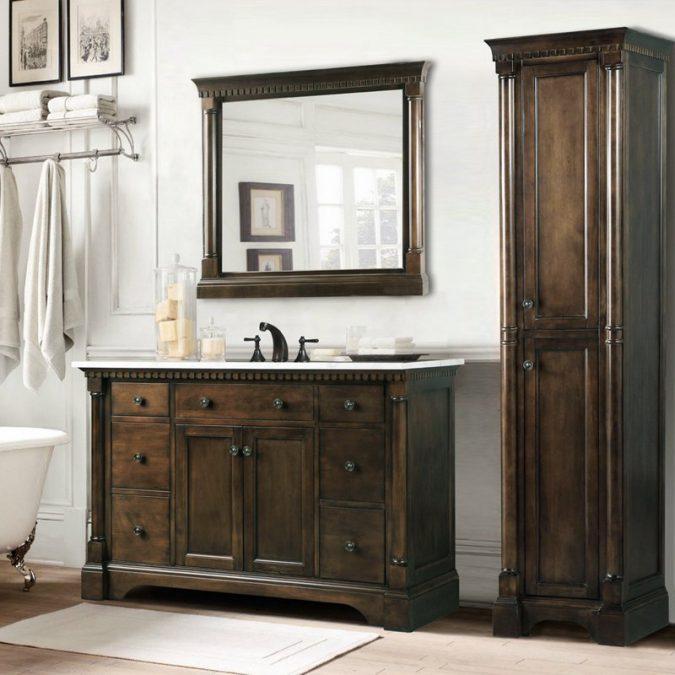 Vanity-bathroom-mirrors5-675x675 Latest Trends: Best 27+ Bathroom Mirror Designs