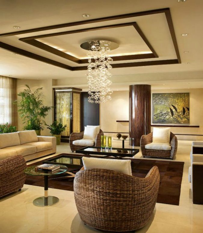 Warm-living-room-ceiling-design-1-675x775 6 Suspended Ceiling Decors Design Ideas For 2020