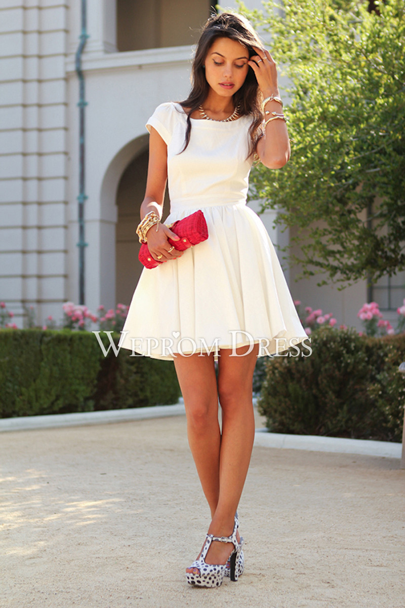 White-Dress2 20+ White Party Outfits Ideas for Women in 2018