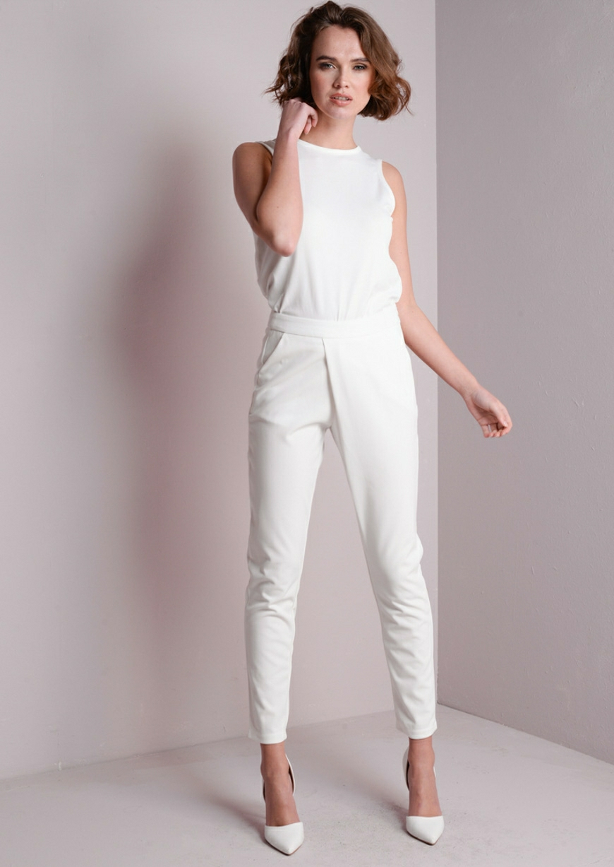 White-Trousers4 20+ White Party Outfits Ideas for Women in 2018