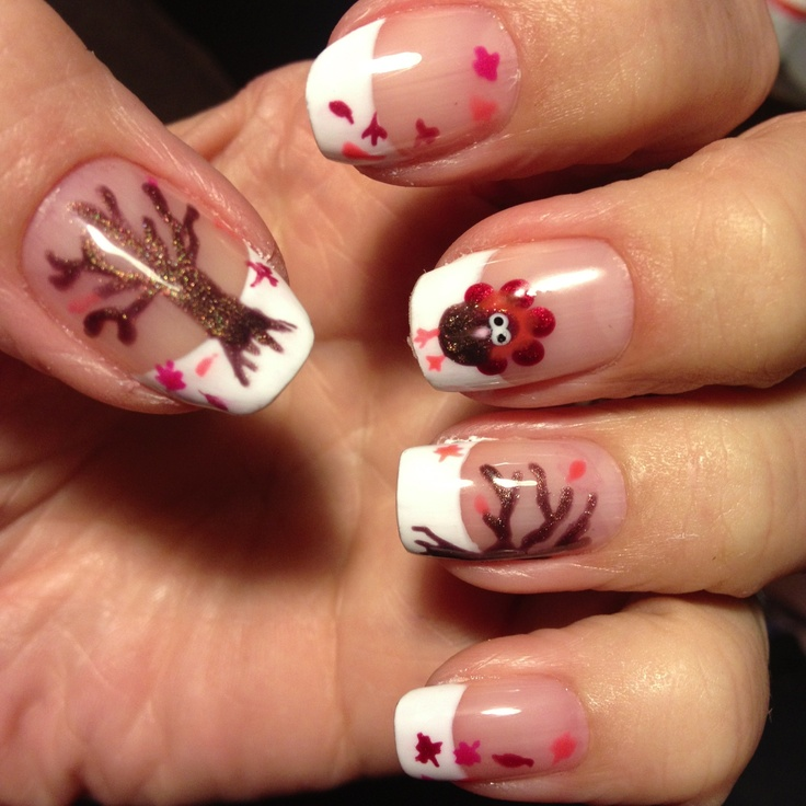 b14370ce13d2eb2f241bb24ae43263d0 10 Thanksgiving Nail Art Design To Try