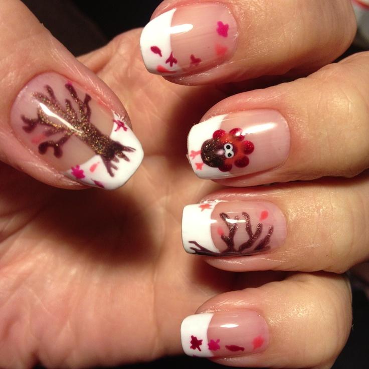 b14370ce13d2eb2f241bb24ae43263d0 10 Thanksgiving Nail Art Design To Try