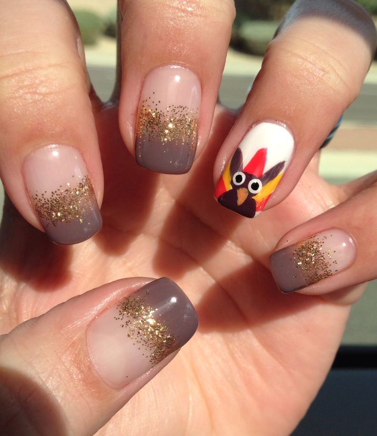 c11a1b17b81c9332723a298f912129da 10 Thanksgiving Nail Art Design To Try