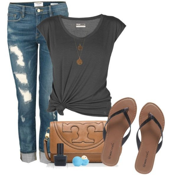 casual-outfit-ideas-for-teens-2017-27 50+ Head-turning Casual Outfit Ideas for Teenage Girls 2020