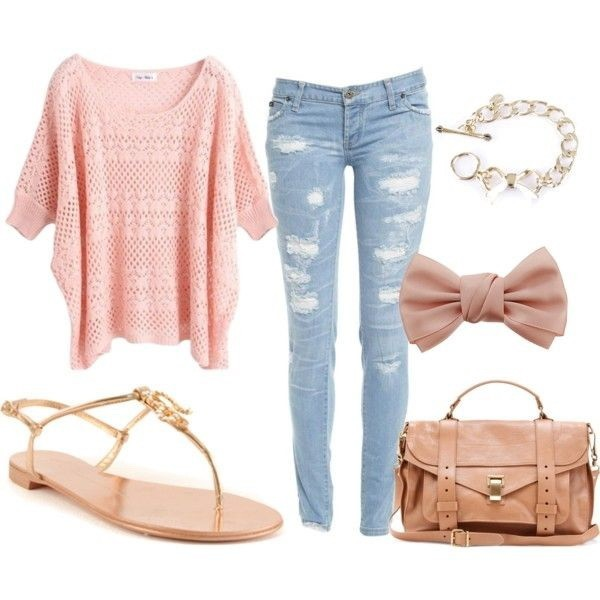 casual-outfit-ideas-for-teens-2017-29 50+ Head-turning Casual Outfit Ideas for Teenage Girls 2020