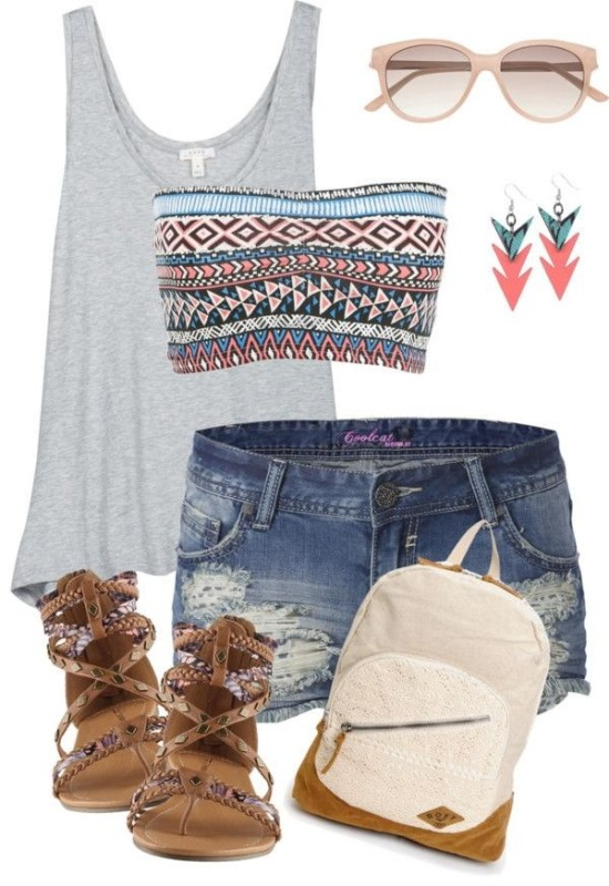 casual-outfit-ideas-for-teens-2017-37 50+ Head-turning Casual Outfit Ideas for Teenage Girls 2017