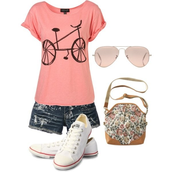 casual-outfit-ideas-for-teens-2017-48 50+ Head-turning Casual Outfit Ideas for Teenage Girls 2020