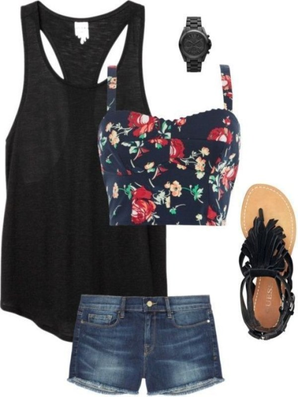 casual-outfit-ideas-for-teens-2017-61 50+ Head-turning Casual Outfit Ideas for Teenage Girls 2020