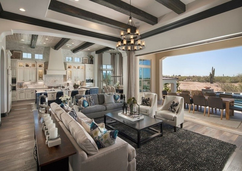 ceiling-beams-11 15 Newest Home Decoration Trends You Have to Know for 2020