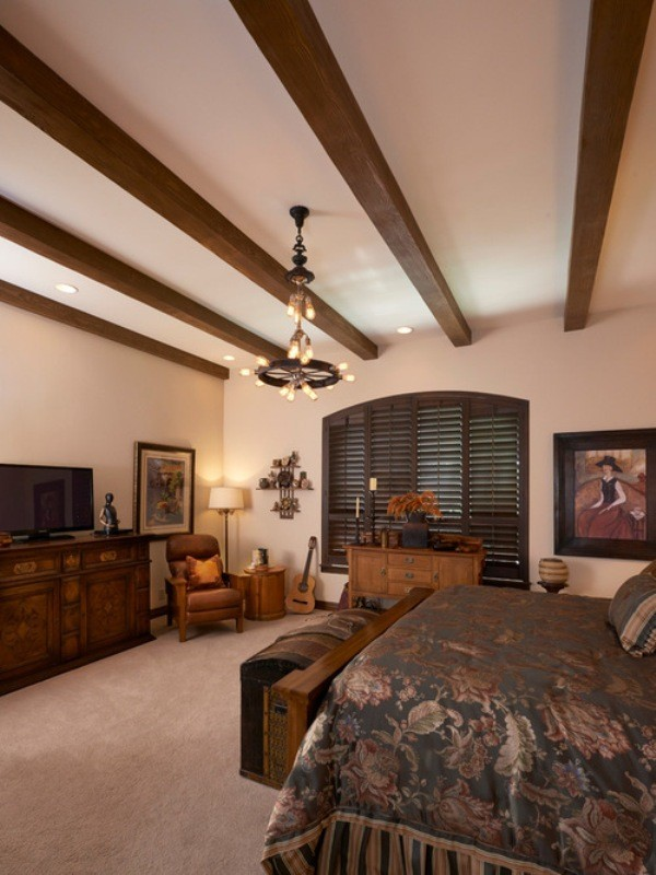 ceiling-beams-4 15 Newest Home Decoration Trends You Have to Know for 2018