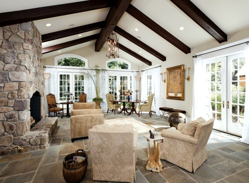 ceiling-beams-8 15 Newest Home Decoration Trends You Have to Know for 2020