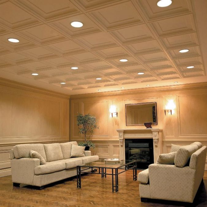 dropped-ceiling2-675x675 6 Designs of Suspended Ceiling Decors for 2017