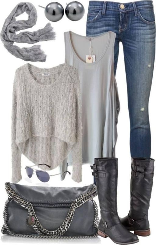 fall-and-winter-outfit-ideas-2017-51-1 50+ Cute Fall & Winter Outfit Ideas 2019