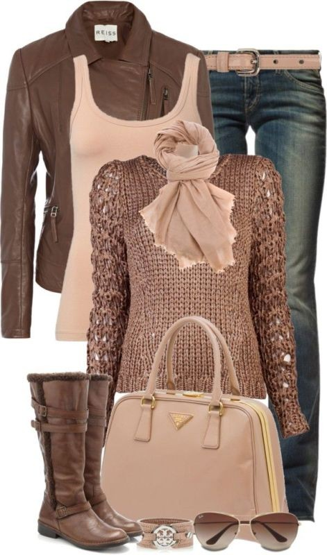 fall-and-winter-outfit-ideas-2017-58-1 50+ Cute Fall & Winter Outfit Ideas 2019