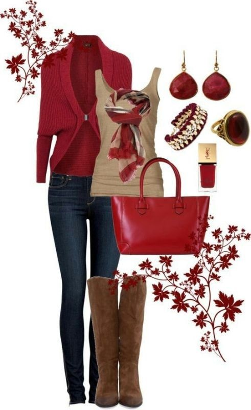 fall-and-winter-outfit-ideas-2017-6-2 50+ Cute Fall & Winter Outfit Ideas 2019