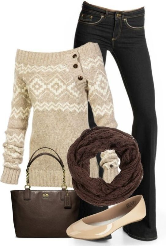 fall-and-winter-outfit-ideas-2017-60-1 50+ Cute Fall & Winter Outfit Ideas 2019