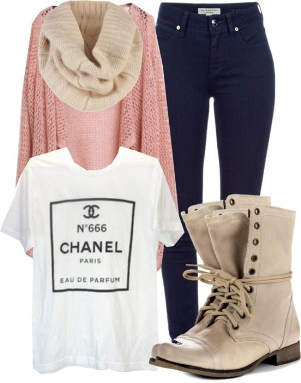 fall-and-winter-outfit-ideas-2017-63-1 50+ Cute Fall & Winter Outfit Ideas 2019