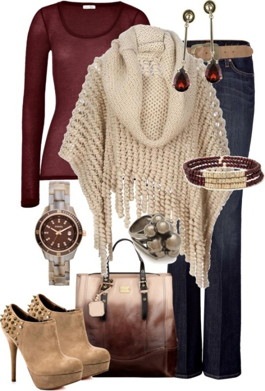 fall-and-winter-outfit-ideas-2017-65-1 50+ Cute Fall & Winter Outfit Ideas 2019
