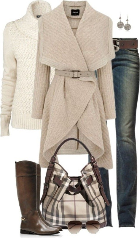 fall-and-winter-outfit-ideas-2017-66-1 50+ Cute Fall & Winter Outfit Ideas 2019