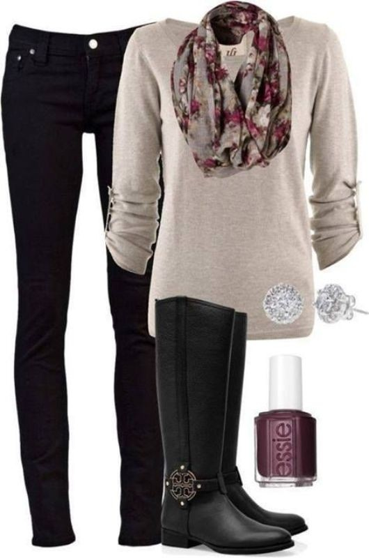 fall-and-winter-outfit-ideas-2017-84-2 50+ Cute Fall & Winter Outfit Ideas 2019