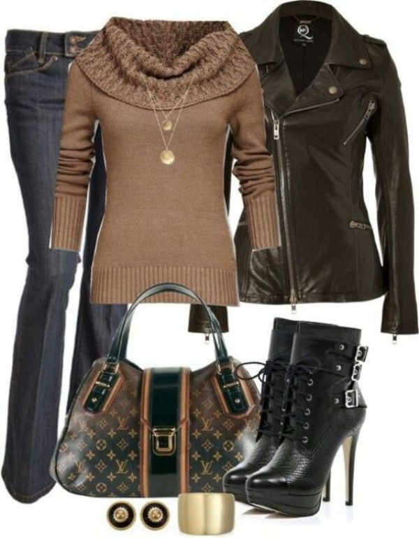 fall-and-winter-outfit-ideas-2017-94-1 50+ Cute Fall & Winter Outfit Ideas 2019