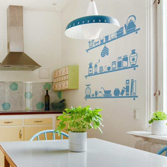 fresh-plants5 5 Newest Kitchens' Decorations Ideas For 2018