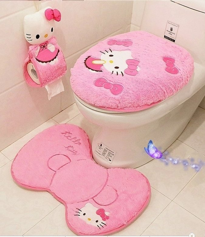 kitty-bathroom3-675x778 5 Bathroom Designs of kids' Dreams