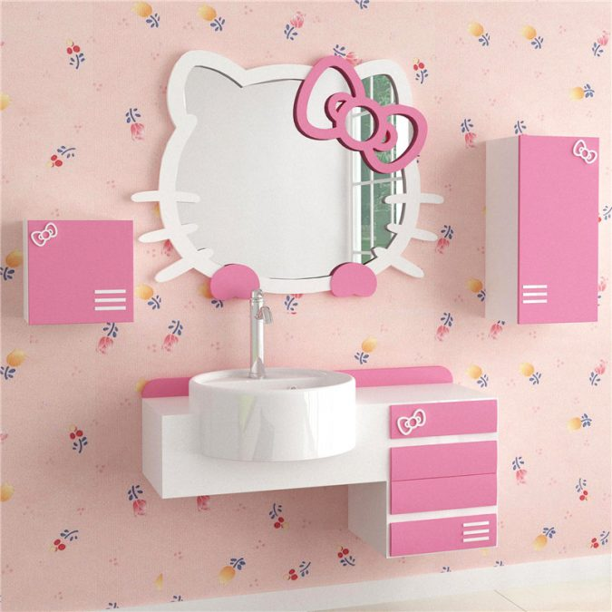 kitty-bathroom6-675x675 5 Bathroom Designs of kids' Dreams