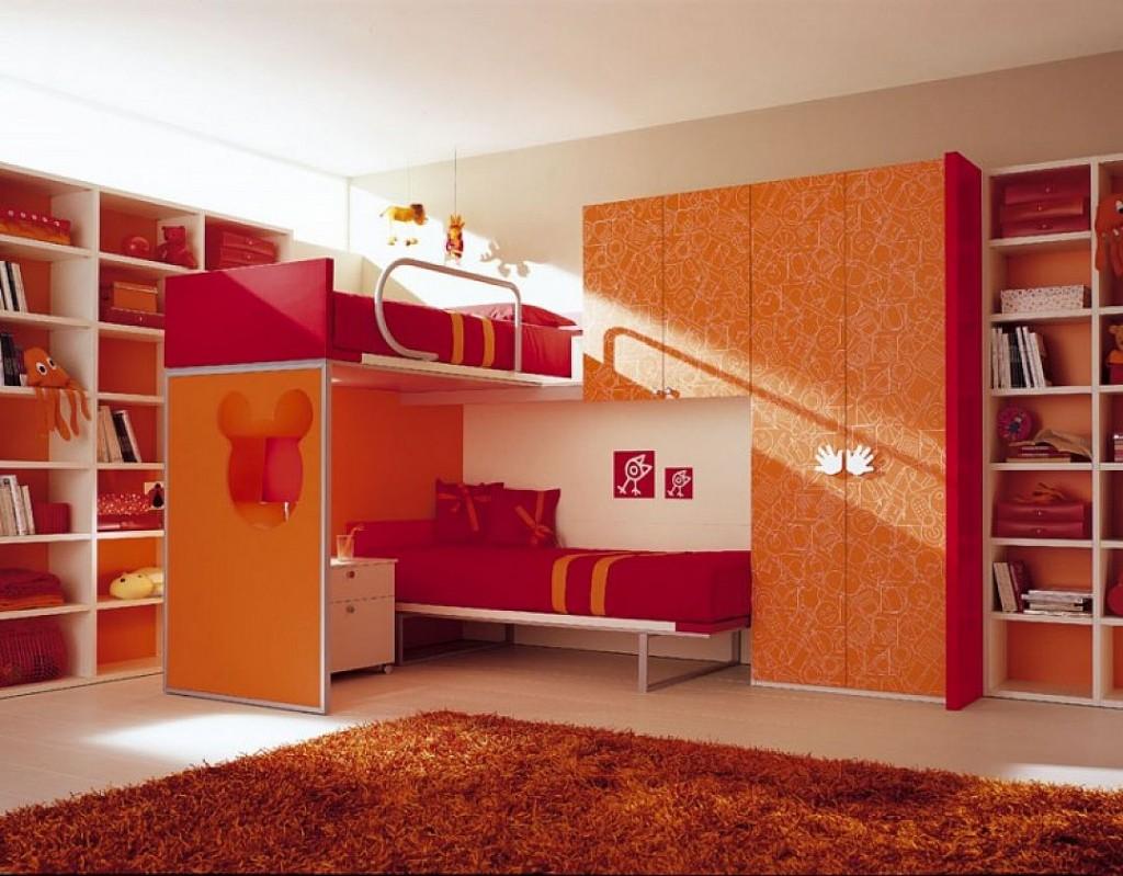llul 25+ Elegant Orange Bedroom Decor Ideas