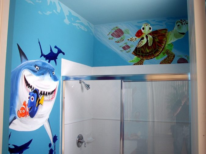 nemobath2-675x506 5 Bathroom Designs of kids' Dreams