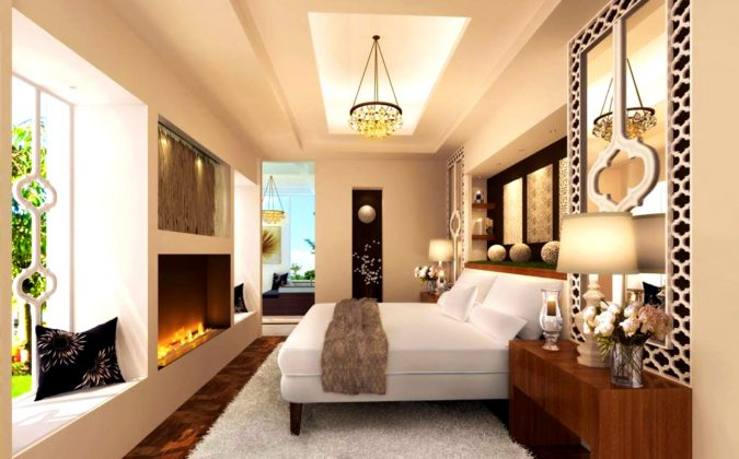 pastel-orange-bedroom-675x420 25+ Orange Bedroom Decor and Design Ideas for 2017