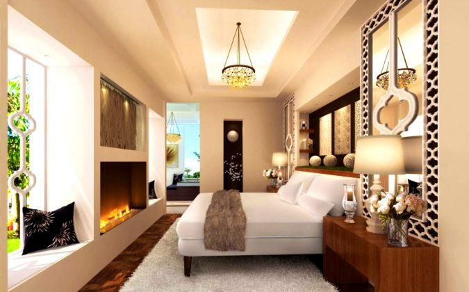 pastel-orange-bedroom-675x420 25+ Elegant Orange Bedroom Decor Ideas